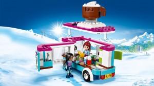 фото Конструктор Lego Friends 'Горнолыжный курорт: фургончик по продаже горячего шоколада' (41319) #3