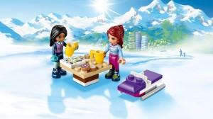 фото Конструктор Lego Friends 'Горнолыжный курорт: фургончик по продаже горячего шоколада' (41319) #6
