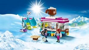 фото Конструктор Lego Friends 'Горнолыжный курорт: фургончик по продаже горячего шоколада' (41319) #2