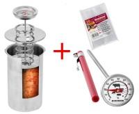 Подарок Ветчинница ВIOWIN + в подарок термометр, набор пакетов на 1,5 кг мяса (313115)