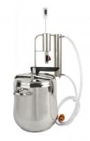 Подарок Дистиллятор и скороварка 2 в 1 с отстойником (12 литров) (340112)
