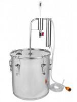 Подарок Дистиллятор с охладителем и отстойником (18 литров) (340118)