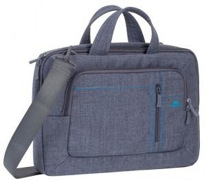 Сумка для ноутбука 13.3' Riva Case 'Grey' (7250)