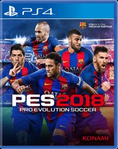 игра PES 2018 PS4 - Русская версия