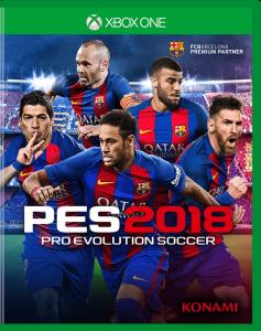 игра PES 2018 Xbox One - русская версия