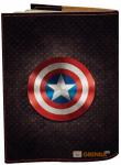 фото Обложка на паспорт 'Капитан Америка' (Эко-Кожа) #2