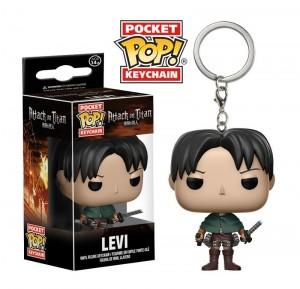 фигурка Брелок Pocket POP! Keychain: Attack on Titan: Levi Ackerman (14216)