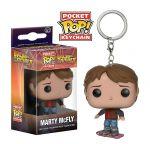 фигурка Брелок Pocket POP! Keychain: BTTF: Marty on Hoverboard (10661)