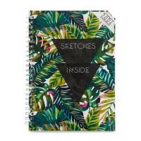 Блокнот ZIZ 'Пальмовые листья'
