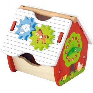 Игрушка-конструктор Viga Toys 'Веселая ферма' (50533)