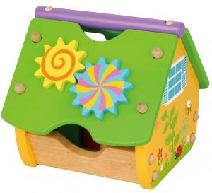 Игрушка-конструктор Viga Toys 'Веселый домик' (59485)