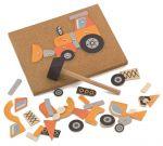 Набор для детского творчества Viga Toys 'Строительная техника' (50336)