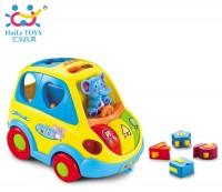 Игрушка-сортер Huile Toys 'Умный автобус' (896)