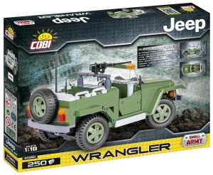 Конструктор COBI 'Военный джип Вранглер, 250 деталей' (COBI-24260)