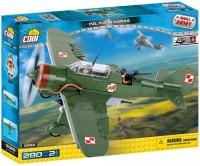 Конструктор COBI 'Вторая Мировая Война Самолет PZL Карась P-23B, 280 деталей' (COBI-5522)