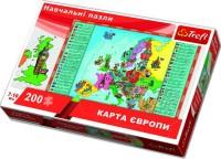 Пазл Trefl 'Карта Европы, 200 элементов' (TFL-15530)