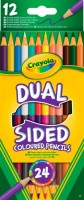 12 двухсторонних цветных карандашей Crayola (68-6100)