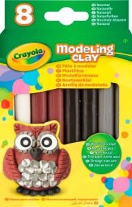 Не засыхающий пластилин Crayola 'Природные цвета' (57-0314)