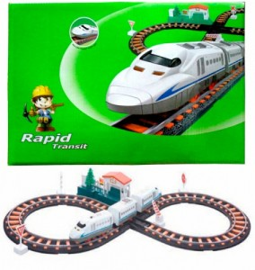 Железная дорога с поездом LiXin '78 х 36 см' (9913)