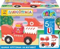Набор с героем и авто Polytopia 'Шаман Кругоман на Огневие' (70006)
