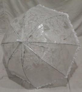Детский зонт грибком RST 70 см (белый)