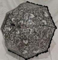 Детский зонт грибком RST 70 см (черный)