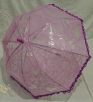 Детский зонт грибком RST 70 см (фиолетовый)