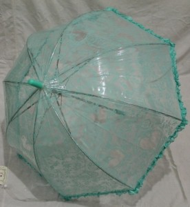 Детский зонт грибком RST 70 см (бирюзовый)