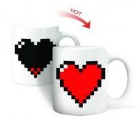 Подарок Чашка-хамелеон 'Like Сердце'