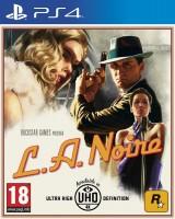 игра L.A.Noire (PS4, русские субтитры)