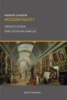 Книга Hanbury & Martin: Modern Equity