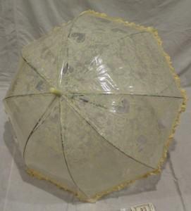 Детский зонт грибком RST 70 см (желтый)