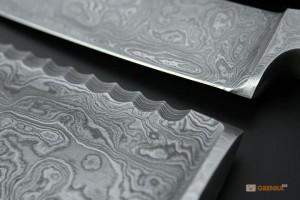 фото Кухонный нож Maestro для овощей 'Damascus 3,25' (80 мм) (MR1484) #3
