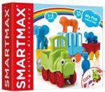 Магнитный конструктор SmartMax 'Мой первый поезд с животными' (SMX 410)