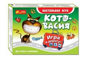 Настольная игра Ranok 'Котовасия' (дорожная версия) (5896-01)