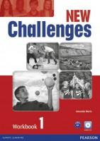 Книга New Challenges 1 Workbook (+CD)