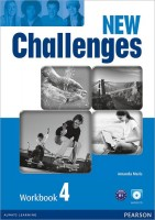 Книга New Challenges 4 Workbook (+CD)