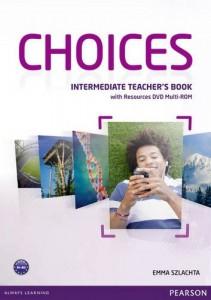 Книга Choices Intermediate Teacher's Book (+ Multi-ROM Pack)