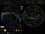 Подарок Карта звездного неба 'Star map of the sky'