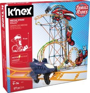 Конструктор K'NEX 'Американские горки: Механический удар'