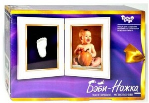 Набор для творчества Danko Toys 'Бэби ножка' (2739)