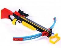 Игрушечный арбалет со стрелами на присосках, прицелом и лазером Limo Toy (M0005)