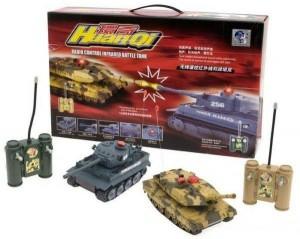 фото Игровой набор на радиоуправлении 'Танковый бой' (508-10) #6