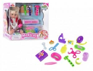 Кукла с набором Доктора в чемодане (1303B)