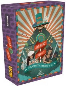 Настольная игра Feelindigo 'Оранж Квест: в погоне за Липким Джо' (FI17004)