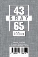 Протекторы для карт 100 шт (43 х 65 мм)