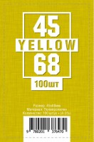 Протекторы для карт 100 шт (45 х 68 мм)