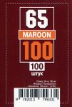 Протекторы для карт 100 шт (65 х 100 мм)