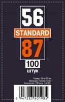 Протекторы для карт 100 шт (56 х 87 мм)