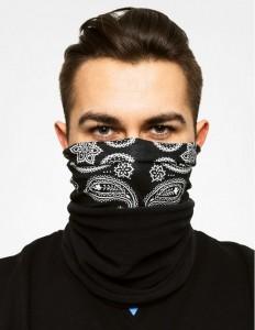 фото Летняя мультиповязка (Бафф) BUFF Original cashmere black (100407.00) #2